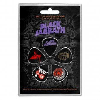 Plektrum Set Black Sabbath Classic Logos