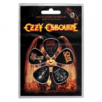 Plektrum Set Ozzy Osbourne Classic Logos
