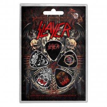 Plektrum Set Slayer Classic Logos