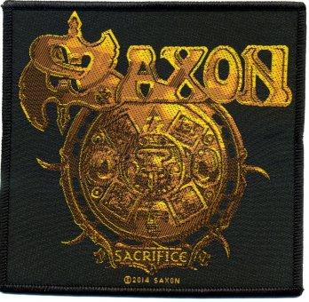 kleiner Aufnäher Saxon Sacrifice