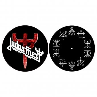 Slipmat Judas Priest Logo ( 2er Set )