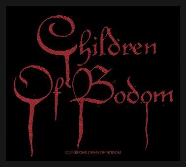 kleiner Aufnäher Children of Bodom Blood Logo