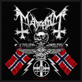 kleiner Aufnäher Mayhem Coat of Arms