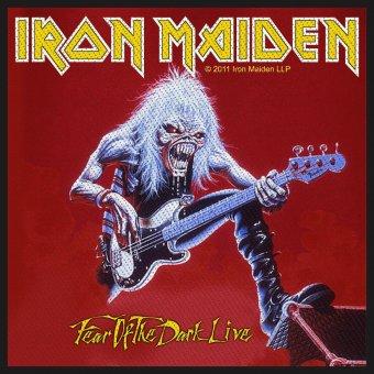kleiner Aufnäher Iron Maiden Fear of the Dark Live