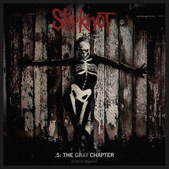 kleiner Aufnäher Slipknot the Gray Chapter