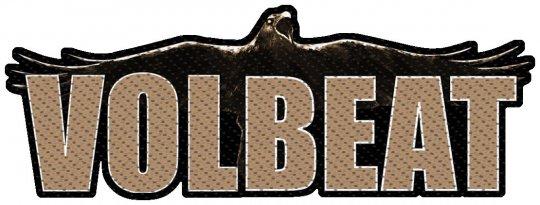 kleiner Aufnäher Volbeat Cut Out Logo