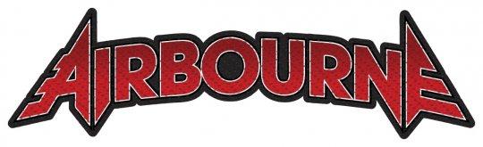 kleiner Aufnäher Airbourne Cut Out Logo