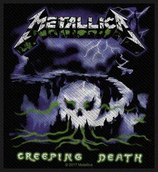 kleiner Aufnäher Metallica Creeping Death