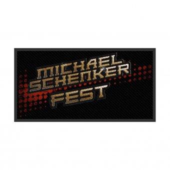 kleiner Aufnäher Michael Schenker Fest