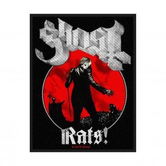 kleiner Aufnäher Ghost Rats