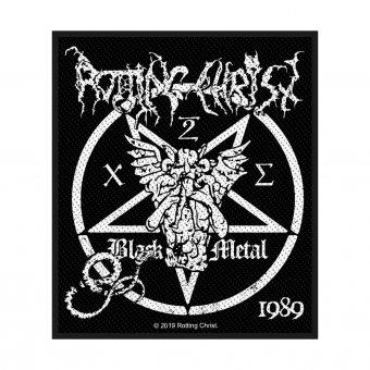 kleiner Aufnäher Rotting Christ Black Metal