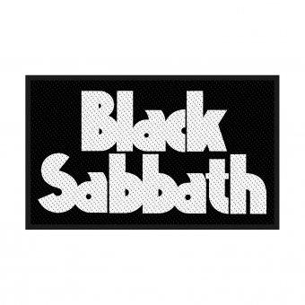 kleiner Aufnäher Black Sabbath Logo