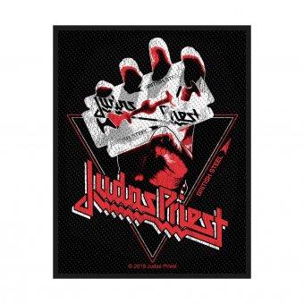 kleiner Aufnäher Judas Priest British Steel Vintage