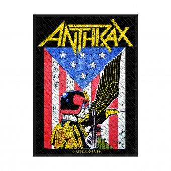 kleiner Aufnäher Anthrax Judge Dredd
