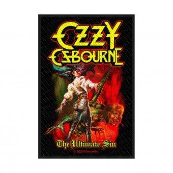 kleiner Aufnäher Ozzy Osbourne Ultimate Sin