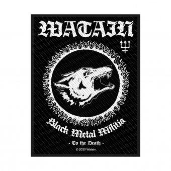 kleiner Aufnäher Watain Black Metal Militia