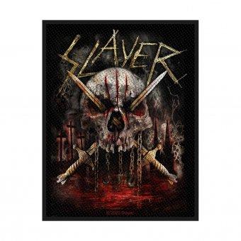 kleiner Aufnäher Slayer Skull & Swords