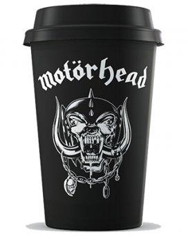 Keramik Becher mit Deckel Motörhead