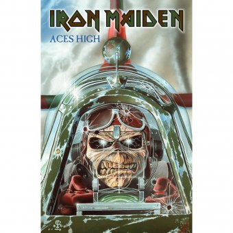 Flagge Iron Maiden Aces High