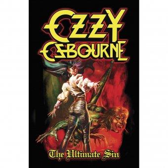 Flagge Ozzy Osbourne Ultimate Sin