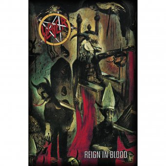 Flagge Slayer Reign in Blood