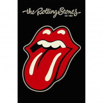 Flagge The Rolling Stones Tongue