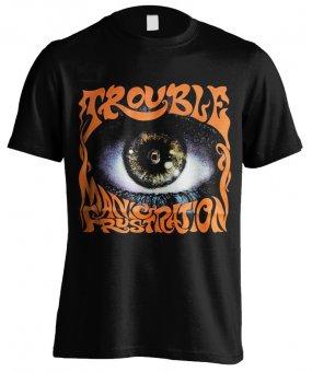 T-Shirt Trouble Manic Frustration