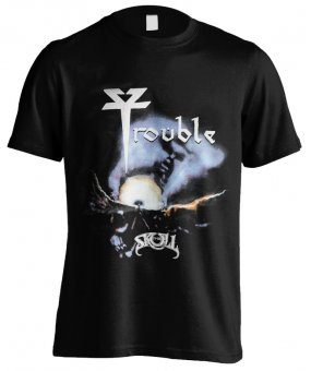 T-Shirt Trouble The Skull