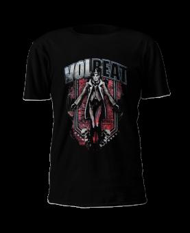 T-Shirt Volbeat King & Skulls