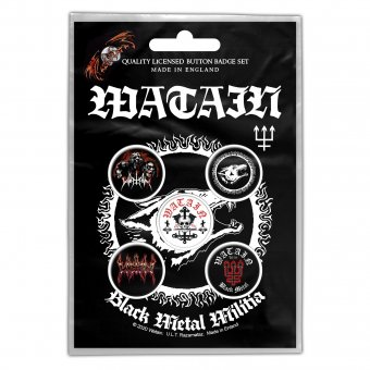 Botton Set Watain Logos