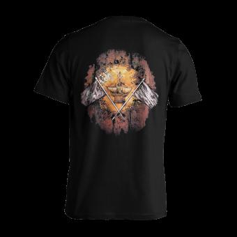 T-Shirt Running Wild Under Jolly Roger