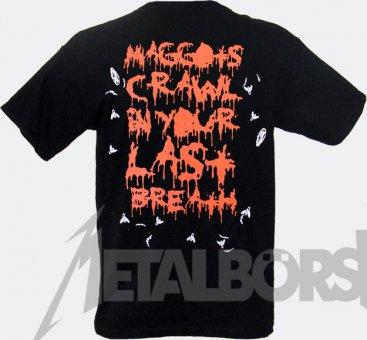 T-Shirt Bloodbath Wretched Human Mirror