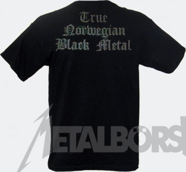 T-Shirt Dark Throne Black Logo M