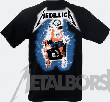 T-Shirt Metallica Ride the Lightning XL