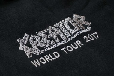 Kapuzenjacke Kreator World Tour 2017