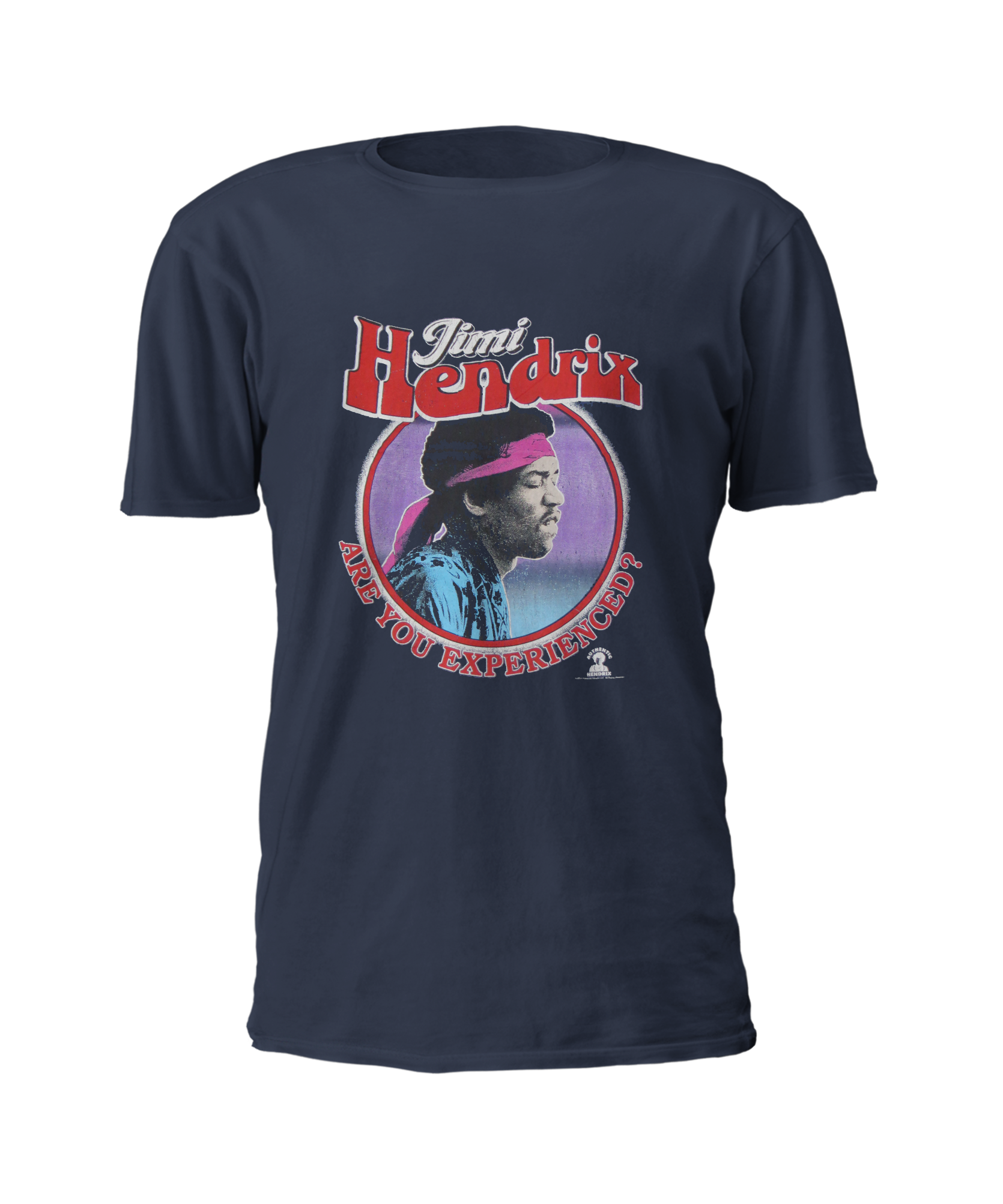 T shirt jimi hendrix are you experienced for Navy blue shirt online