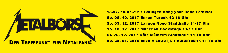 Metalbörse Termine Herbst 2017