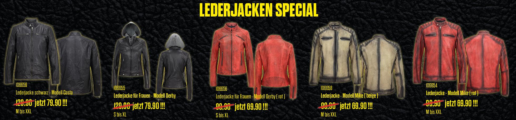 Lederjacken Special